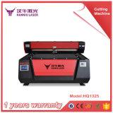 Máquina de madeira da estaca da câmara de ar do laser HQ1325 e de estaca do laser da gravura