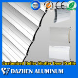 Perfil de aluminio rodante modificado para requisitos particulares la mejor calidad de la puerta del obturador del rodillo con anodizado