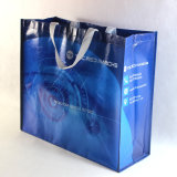 Короткий мешок Tote слоев хозяйственной сумки ручки сплетенный PP двойной сплетенный /PP Laminate