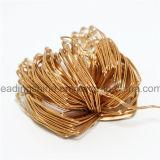 Wasserdichtes Zeichenkette-Licht-Seil-Licht des kupfernen Draht-6AA sternenklares geeignet für Weihnachtsfeste