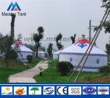 耐久財8mのDiaによってカスタマイズされる冬のキャンバスのテントのモンゴルのYurtのテント