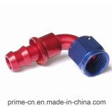 - 08 90 gradi montaggi di spinta della serratura di estremità del tubo flessibile