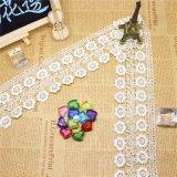 Шнурок утески вышивки полиэфира ширины оптовой продажи 7cm штока фабрик вышивки Nylon для декора одеяния & домашних тканиь & вспомогательного оборудования занавесов (BS1105)