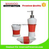 Вспомогательное оборудование ванной комнаты европейского сбывания типа способа горячего керамическое на отделке цвета Underglazed