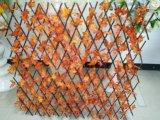 Cerca artificial da planta do uso ao ar livre da decoração do jardim