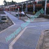 Passage couvert discordant en acier spécial pour l'usage ferroviaire