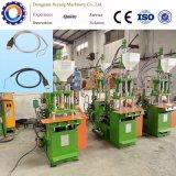 Máquina moldando da micro injeção plástica do cabo de potência do PVC de 30 toneladas