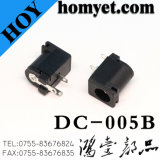 穴のDC電源ジャック(DC-005)による直角のすくいの電源コネクタまたは