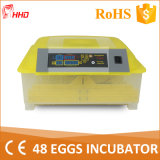 CER Marked Automatic Mini Quail Egg Incubator für 132 Eggs