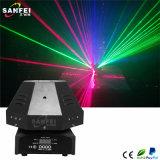Laser do cogumelo dos olhos do RGB 9 mini