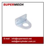 Исправленное Lb вспомогательное оборудование цилиндра алюминиевого сплава ISO 6432 поддержки миниое пневматическое
