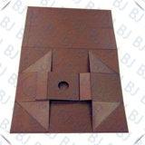 Rectángulo de papel plegable de la alta calidad del rectángulo magnético al por mayor de encargo de la cartulina