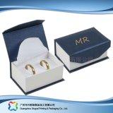 Cadre de empaquetage de carton de montre de bijou d'étalage en bois de luxe de cadeau (xc-hbj-040)