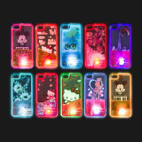 Hot-Selling LED Quicksand TPU Case pour iPhone 7