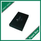 Contenitore di regalo di carta nero di tiraggio
