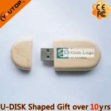 ギフト(YT-8103)のためのクルミまたはタケまたは木製楕円形USBのフラッシュ駆動機構