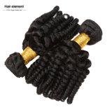 卸売100%の人間の毛髪の緩い波のブラジル人の毛