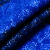Glänzendes Polyester-Woolen Gewebe 100% für Frauen-Oberes