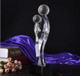 2016 de Nieuwe K9 Gift van de Trofee van het Glas van het Kristal voor Herinnering