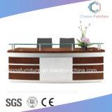 木のレセプション表のオフィス用家具