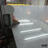 12mm проектировало камень кварца каменного Sparkle белый