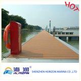 Sich hin- und herbewegender DockDecking des Haus-WPC für sich hin- und herbewegendes Dock