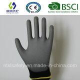 Верхней части PU ESD перчатка Nylon подходящая (SL-PU206 (13G))