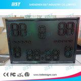 Marcador impermeable al aire libre del alto brillo LED para la visualización de la cuenta de deporte