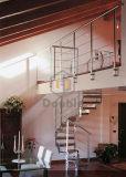 Escalera espiral usada hierro de /Cast de los fabricantes de la escalera/de las escaleras del espiral del metal de la fábrica