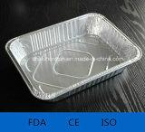 منزل ألومنيوم/[ألومينوم فويل] وعاء صندوق لأنّ طعام