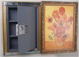 Versteckter Wand-sicherer Kasten mit Bilderrahmen