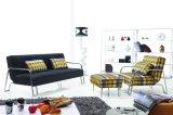 Base di sofà moderna dello strato della traversina del tessuto del salone