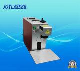 máquina de grabado portable de la marca del laser de la fibra 20W