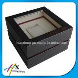Neuer Entwurfs-kundenspezifischer hölzerner Uhr-Kasten-Verpackungs-Kasten-Geschenk-Kasten