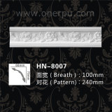 Цена по прейскуранту завода-изготовителя высеканная полиуретаном прессформ карниза PU панели Hn-8007
