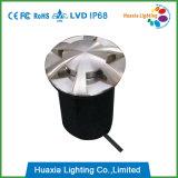304stainless 강철에 의하여 중단되는 Inground 빛, LED 단계 빛
