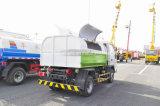 El brazo de 3 M3 Forland cae el carro de la basura 3 toneladas de pequeño del gancho de leva carro de basura