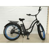Beach Cruiser Electric Bicycle女性