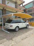 Autoparkplatz, bewegliche Garage