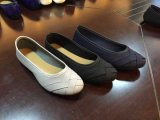 Frauen-Ballerina-Schuhe der Dame-Fashion Hot Selling Weave flache