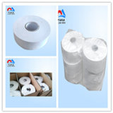 papier de soie de soie en bambou de pulpe Jumboo de Vierge commerciale de roulis de 1/2/3ply