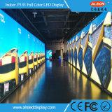 HD P3.91 Innenmiete gebogenes LED Zeichen mit FCC