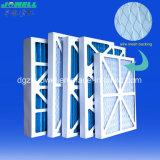 冷暖房システムのための拡張表面の総合的なパネルフィルター空気取り入れフィルター