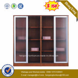 Самомоднейшая офисная мебель шкафа архива 3 алюминиевая стеклянная дверей (HX-4FL008)