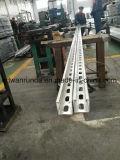 canal Unistrut de 41*41m m/de 41*21m m x de 1.5/2.0/2.5/3m m HDG, longitud 3-12meters