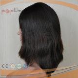 100%の人間の毛髪の加工されていないバージン波状様式の中型の絹の上のかつら