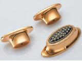 Maniglia di portello contratta guardaroba del Governo del cassetto del nero dell'oro di H33 K