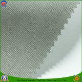 Tela tejida apagón impermeable revestido casero de la cortina del rayón del poliester del PVC franco de la materia textil