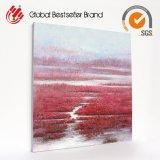 주문 장식적인 색칠 빨간 플랜트 유화 DIY 화포 요약 색칠 (LH-M170726)