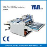 Equipo semi automático del laminador de la película con el sistema de papel vibrante de la colección